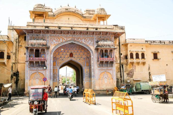 Indie Jaipur brama
