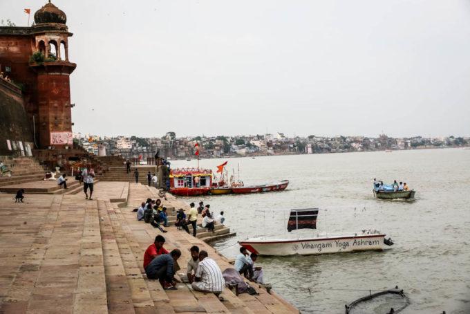 Indie Waranasi Ganges