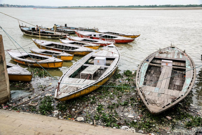 Indie Waranasi zanieczyszczenie