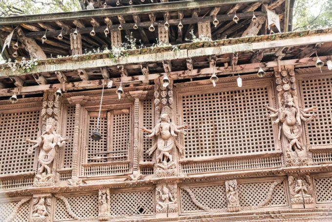 Nepal Kathamandu Durbar Square zdobienia