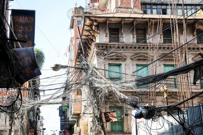 Nepal Kathamandu kable