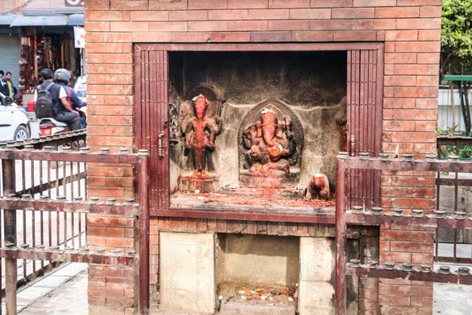 Nepal Kathamandu kapliczka