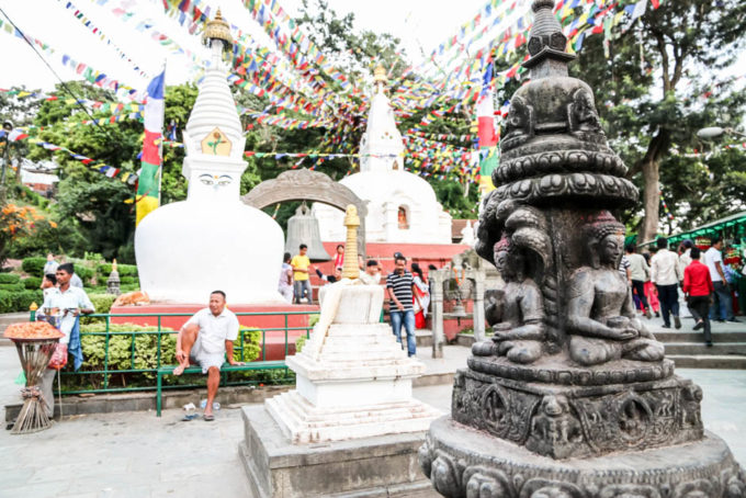 Nepal Katmandu Swayambhunath