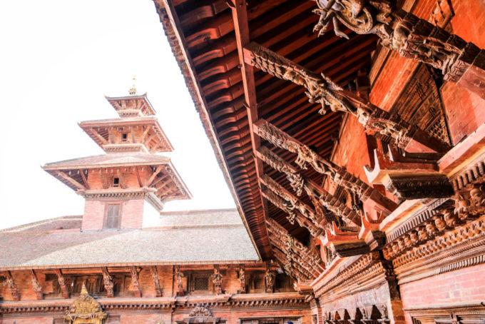 Nepal Patan Durbar Square 2