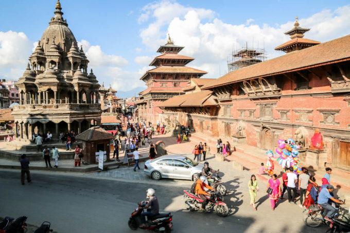 Nepal Patan Durbar Square 6