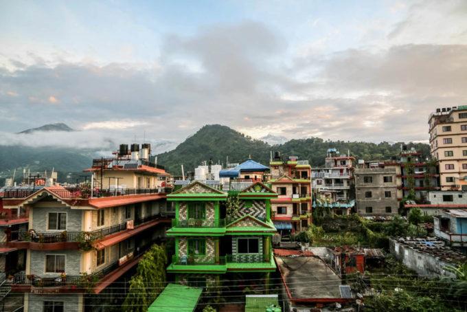 Nepal Pokhara po trekkingu