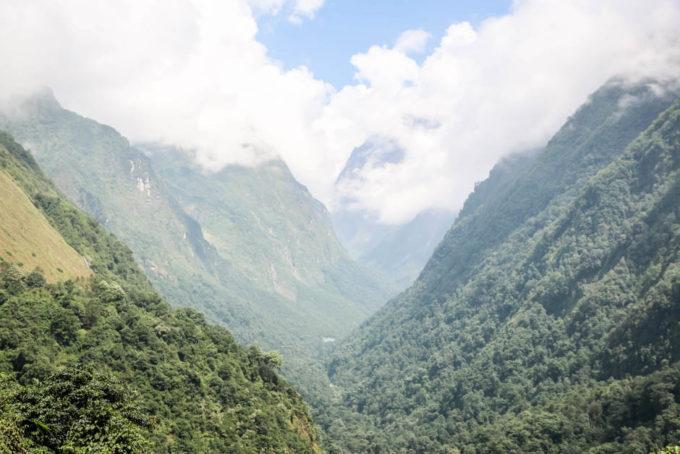 Nepal trekking do ABC z Siwai