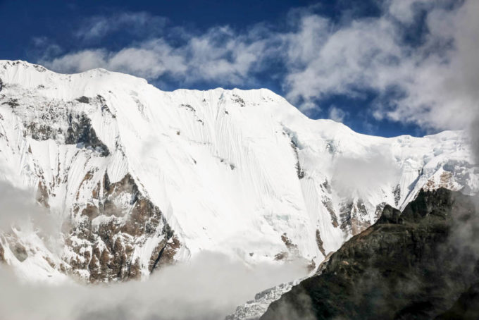 Nepal trekking masyw Annapurna I