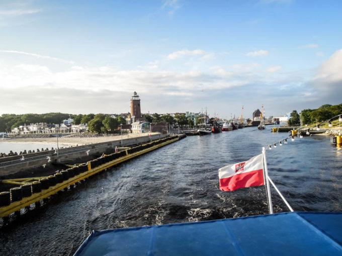 Rejs katamaranem na Bornholm