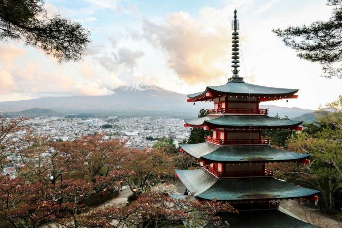 Fuji Chureito Pagoda