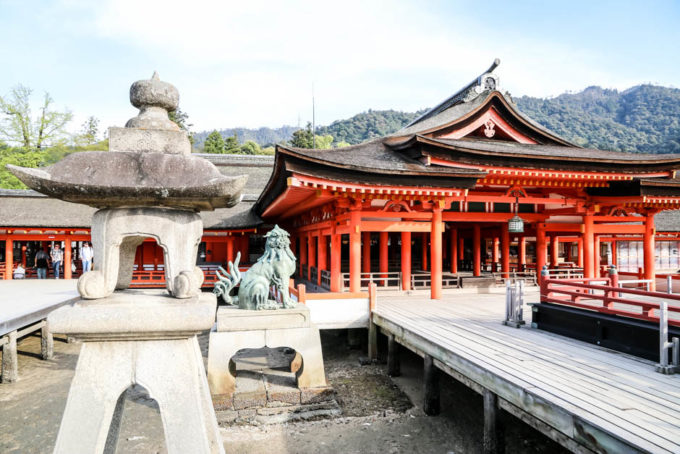 Itsukushima Shrine Japonia