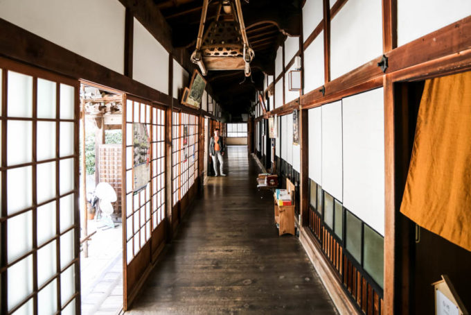 Nocleg z mnichami Koyasan 3