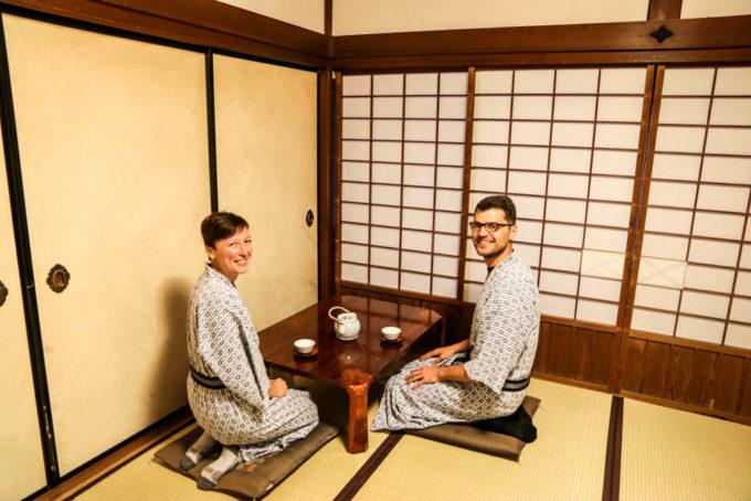 Nocleg z mnichami Koyasan