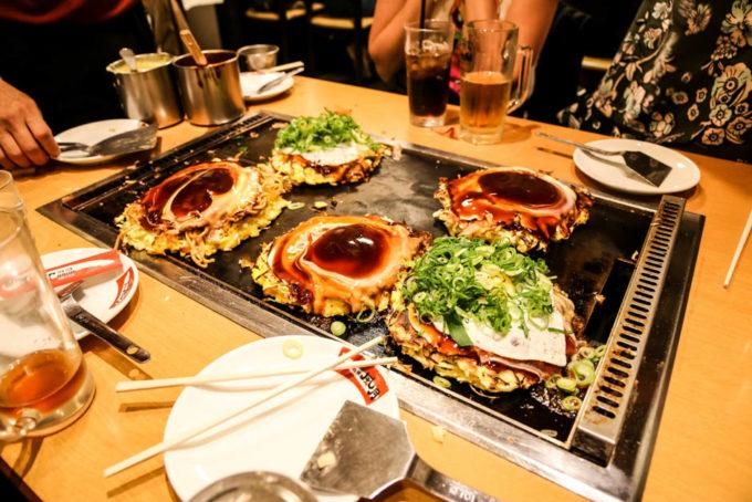 Okonomiyaki Osaka 2