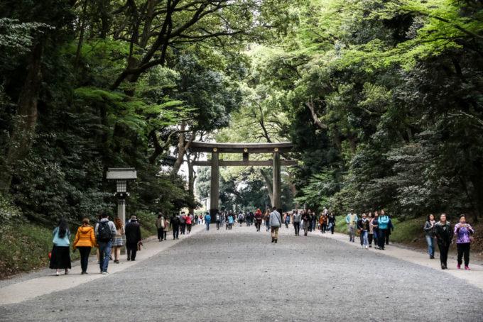 Park Yoyogi i Meiji-jingu