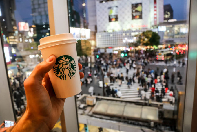 Shibuya Starbucks Tokio
