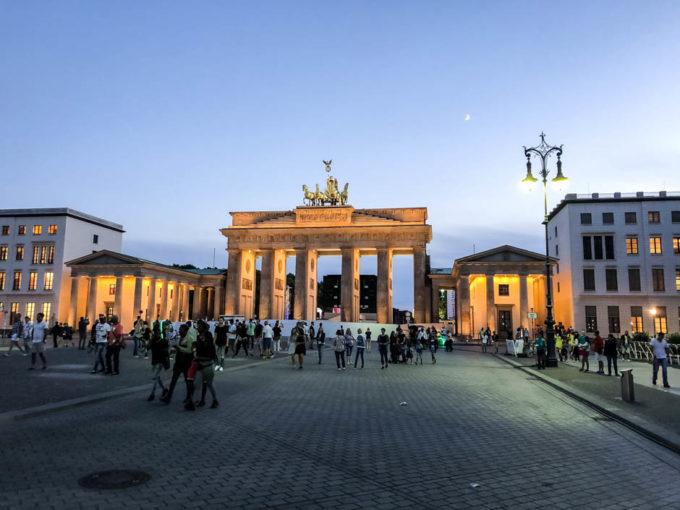 Brama Braderburska Berlin