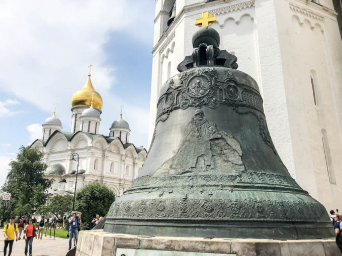 Kreml Moskwa dzwon