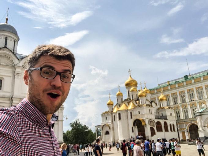 Kreml Moskwa sobory 2