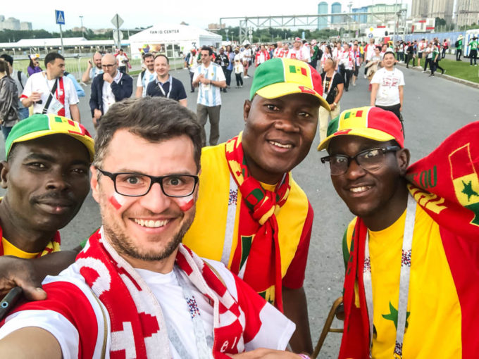 Z Senegalczykami