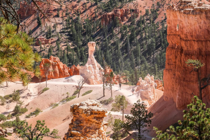 Bryce Canyon trekking Queens Garden Trail