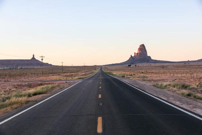 Droga do Monument Valley