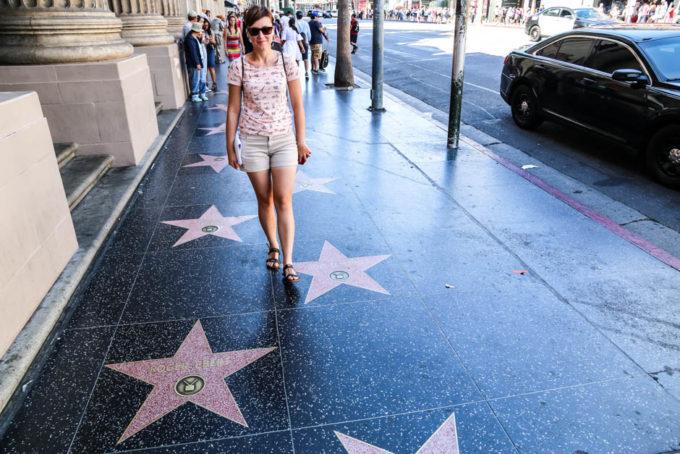 Los Angeles Hollywood gwiazdy