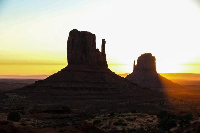 Monument Valley ranek