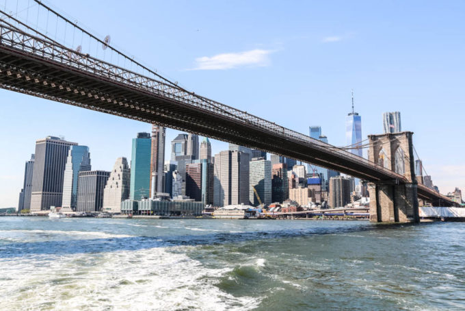 Prom pod Brooklyn Bridge