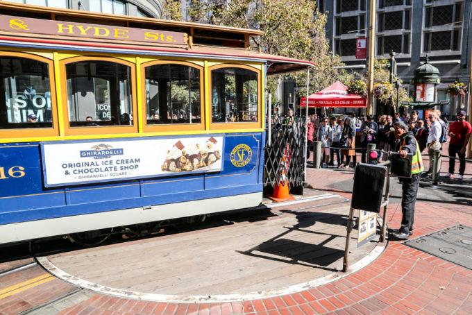 San Fransisco tramwaje