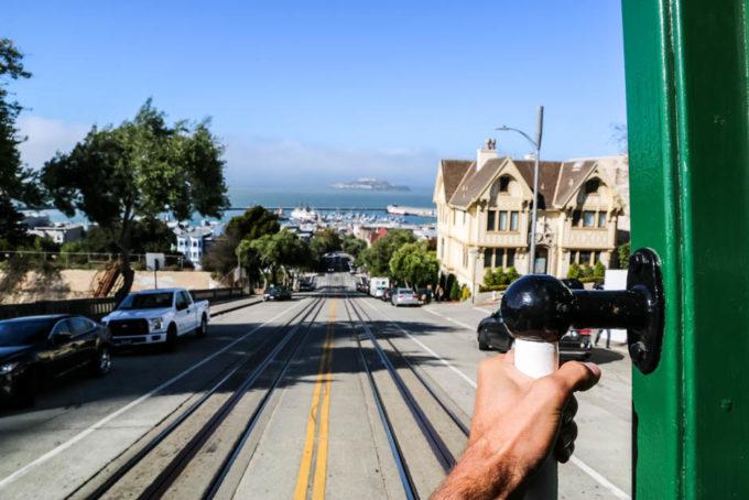 San Fransisco wycieczka tramwajem