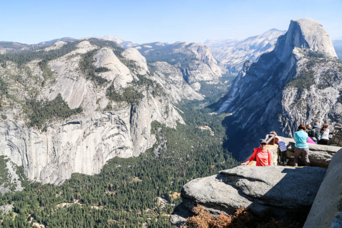 Yosemite Glacier Point