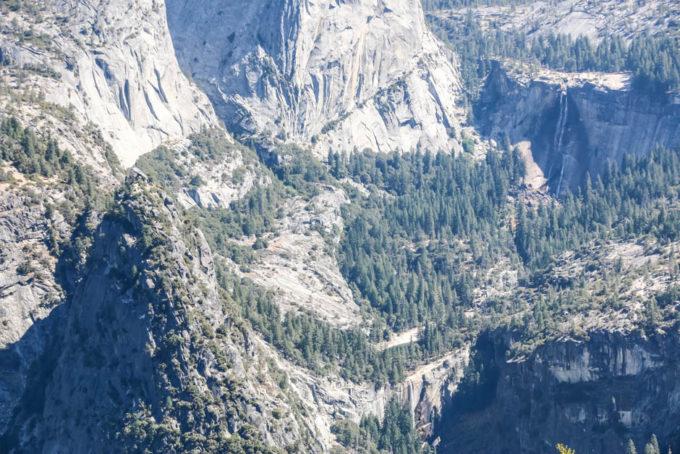 Yosemite Glacier Point wodospady