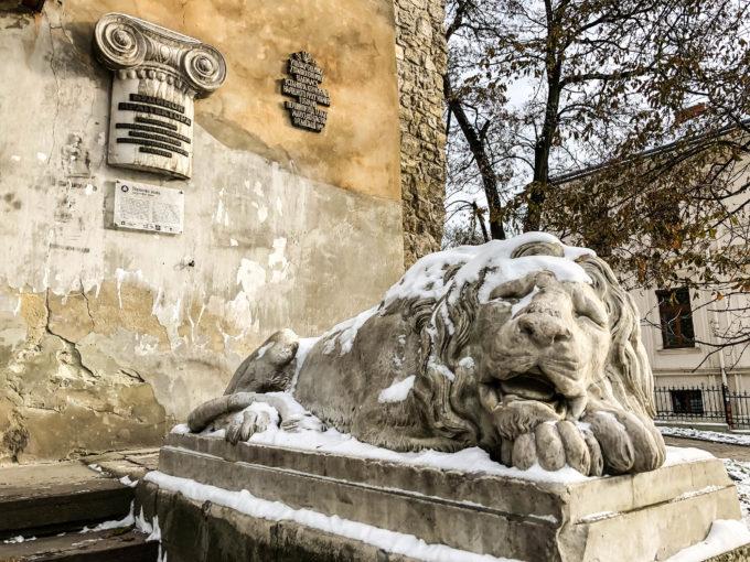 Pomnik Lwa we Lwowie