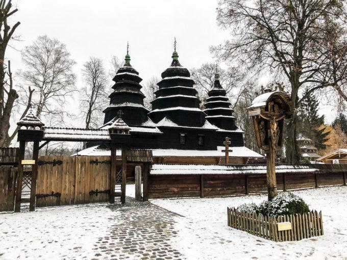 Skansen we Lwowie cerkiew