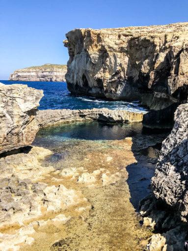 Dawne Lazurowe Okno i Blue Hole Gozo