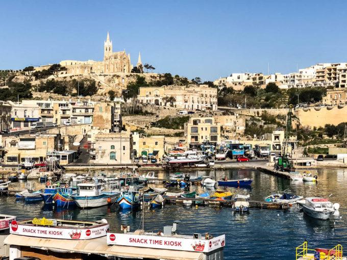 Port Mgarr na Gozo