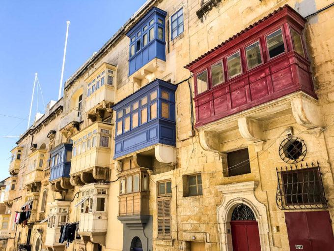Valetta balkony