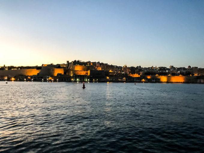 Valetta widok z morza