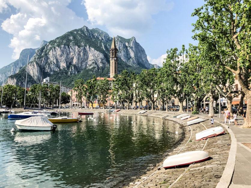 Lecco nad jeziorem Como