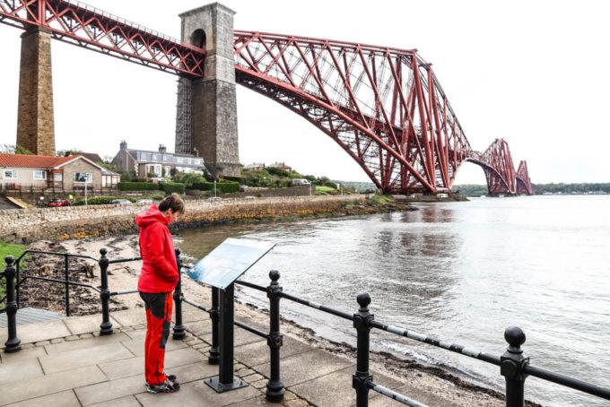 Most przed Edynburgiem
