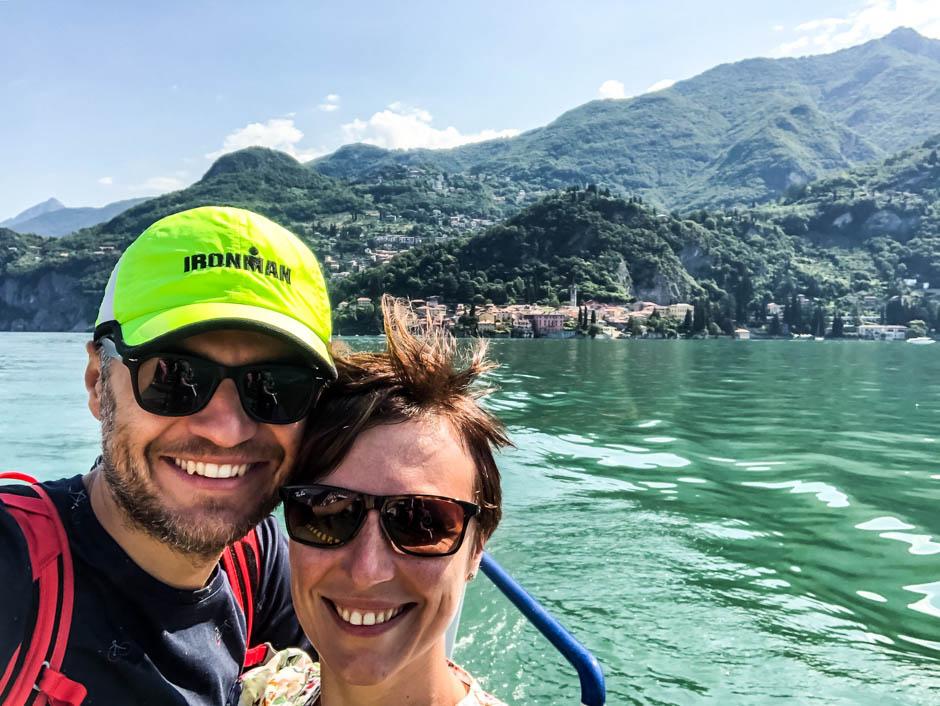 Na promo jezioro Como
