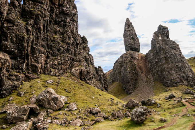 Old Man of Storr z bliska