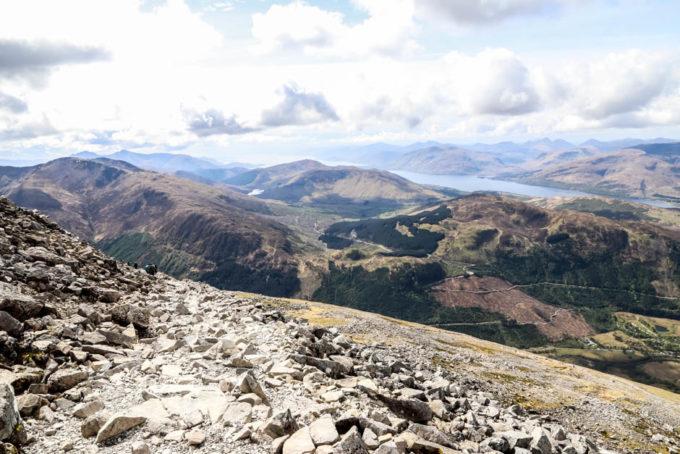 Panoramy z Ben Nevis 3