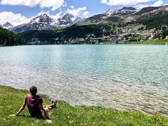 Relaks w St. Moritz