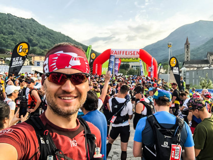 Start biegu ultra Scenic Trail