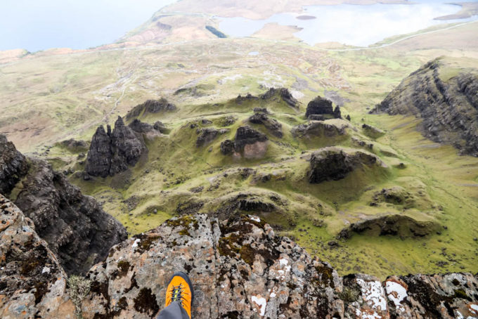 Widok z The Storr