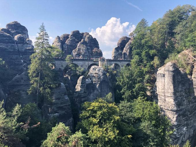Kamienny most w Bastei
