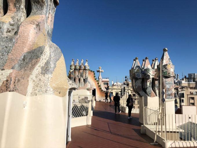 Casa Batllo Barcelona dach