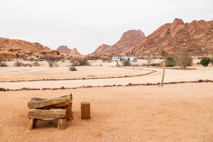 Kemping Spitzkoppe